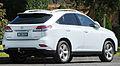 2012 Lexus RX 350 (GGL15R) Luxury wagon (2012-09-01) 02.jpg