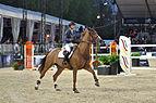 2013 Longines Global Champions - Lausanne - 14-09-2013 - Janika Sprunger et Electra van't Roosakker 2.jpg