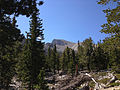 2014-09-15 11 01 30 View of Wheeler Peak from the Bristlecone Trail and the Glacier Trail in Great Basin National Park, Nevada.JPG