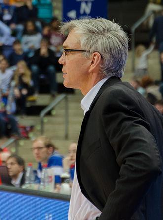 Gordon Herbert - Herbert, while coaching in 2015.