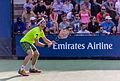 2015 US Open Tennis - Qualies - Guilherme Clezar (BRA) def. Nicolas Almagro (ESP) (12) (21142145082).jpg