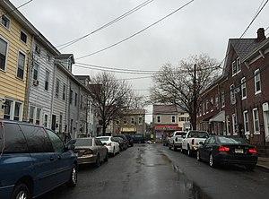 Chestnut Park, Trenton, New Jersey - Jersey Street in Chestnut Park