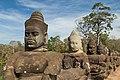 2016 Angkor, Angkor Thom, Brama południowa (10).jpg