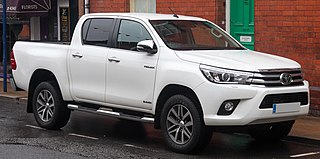 Toyota Hilux Series of light commercial vehicles produced by the Japanese car-manufacturer Toyota.