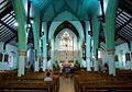 2016 Woolwich, St Peter's RC Church, interior, east.jpg