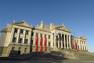 Senate of Uruguay - The Palacio Legislativo, meeting place of the Senate