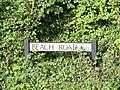 2018-09-14 Street name sign, Beach Road, Mundesley.JPG