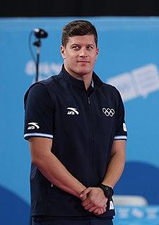 Dániel Gyurta Hungarian swimmer