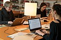 2018 Art + Feminism Wikipedia Edit-a-thon Ingalls Library, Cleveland Museum of Art 02.jpg
