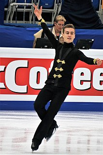 Matteo Rizzo Italian figure skater