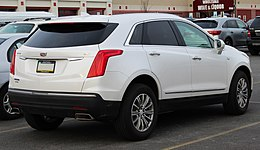 2019 Cadillac XT5 Luxury 3.6L rear 3.24.19.jpg
