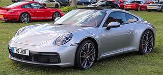 Porsche 992 Eighth generation of the Porsche 911