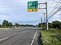 2020-06-20 18 44 38 View south along Maryland State Route 2 (Governor Ritchie Highway) at the exit for Maryland State Route 100 WEST (TO Interstate 97, Baltimore) in Glen Burnie, Anne Arundel County, Maryland.jpg