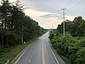 2020-06-22 18 28 33 View north along Maryland State Route 173 (Fort Smallwood Road) from the pedestrian overpass near Devere Drive in Lake Shore, Anne Arundel County, Maryland.jpg