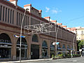 241 Mercat municipal de Tortosa, façana de l'av. Generalitat.JPG