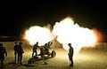 26 Regt Royal Artillery Night Firing At Camp Bastion MOD 45157878.jpg