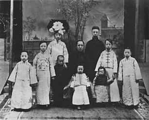china kaiser kang hsi porträt selbst vintage
