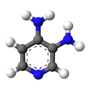 Amifampridine - Image: 3,4 diaminopyridine 3D balls