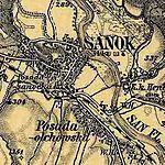 3. Militärische Aufnahme (1869-1887), Sanok.JPG