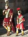 377 Desfilada dels Manaies davant l'església de Sant Lluc (Girona).JPG