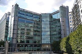 Kingfisher plc - Kingfisher's company headquarters, 3 Sheldon Square, London