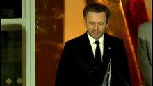 File:3 short clips of Michael Sheen presenting the St David Award 2015.webm
