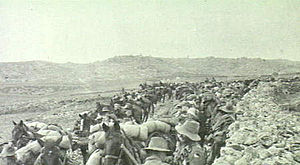 3rd Light Horse Regiment (Australia) - 3rd Light Horse Regiment in front of Bethlehem