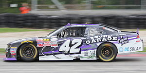 HScott Motorsports - The No. 42, driven by Justin Marks, at Road America in 2015
