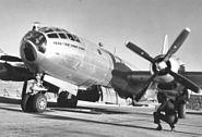 4825th TG B-29 at Kirtland Field Bomb Loading Pit