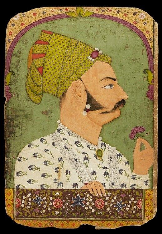 4 Maharaja Bakhat Singh of Nagaur. ca. 1735, Jodhpur, Ashmolean