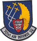 Patch showing the emblem of the 701st Air Defense Squadron patch.