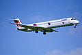 77ad - Crossair MD-83; HB-ISZ@ZRH;31.10.1999 (5067236634).jpg