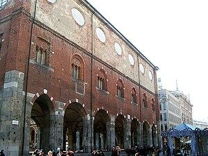 Palazzo della Ragione, Milan - Palazzo della Ragione.