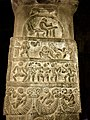 8th century Panchatantra legends panels at Virupaksha Shaivism temple, Pattadakal Hindu monuments Karnataka 5.jpg