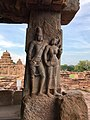 8th century mithuna reliefs at Virupaksha temple, Pattadakal Hindu monuments Karnataka 1.jpg