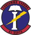 91 Security Support Sq emblem.png