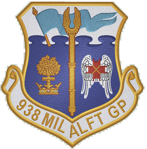 938th Military Airlift Group - Image: 938th Military Airlift Group emblem