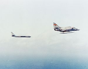 A-4E VC-5 with Tu-16 off Japan 1981.JPEG