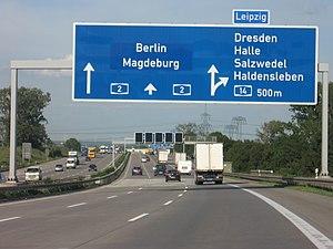 Bundesautobahn 2 - Image: A2 Duitsland