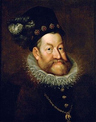 Rudolf II, Holy Roman Emperor - Image: AACHEN, Hans von Portrait of Emperor Rudolf II WGA