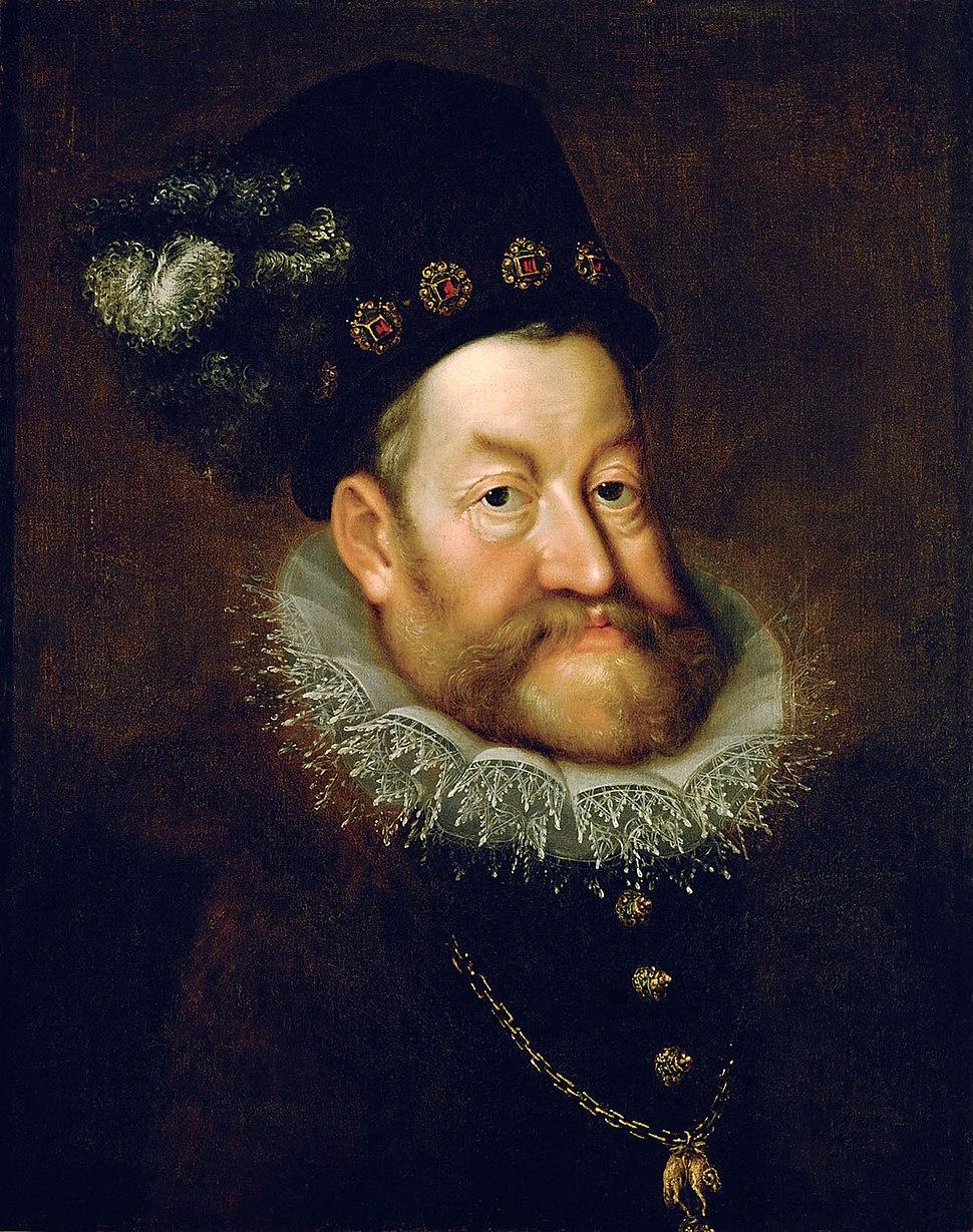 AACHEN, Hans von - Portrait of Emperor Rudolf II - WGA