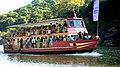 APTDC Passenger ferry at Papikondalu (Papi Hills).jpg
