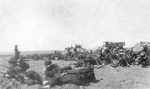 59th Battalion (Australia) - 59th Battalion soldiers in Egypt, April 1916