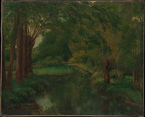 A Brook in a Clearing (possibly \