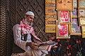 A Muslim shopkeeper on a Delhi street.jpg