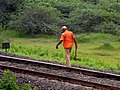 A Railway Gangmen at work near Thadi 01.jpg