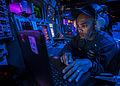 A Sailor directs air traffic. (13405293353).jpg