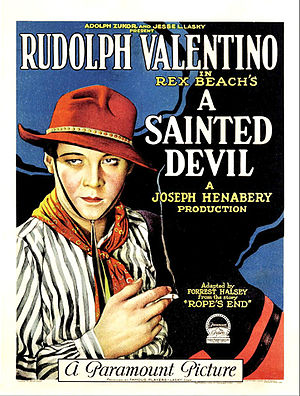 A Sainted Devil - Theatrical poster
