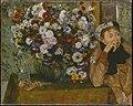 A Woman Seated beside a Vase of Flowers (Madame Paul Valpinçon?) MET DT1566.jpg
