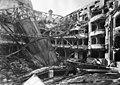 A bombatalálatot kapott Vígszínház (1945) Fortepan 115366.jpg